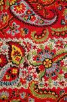antique textile paisley